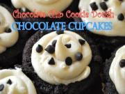 Chocolate Chip Cookie Dough Chocolate Cupcakes