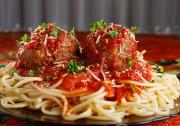 Meat Balls And Spaghetti