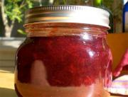Rhubarb Strawberry Conserve