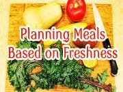 Planning Meals Based On Expiration Dates