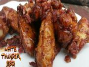 Maple Bacon Chicken Wings Hickory Smoked Wings