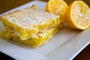 Microwaved Lemon Squares