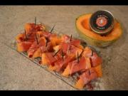 How To Make Napa Jacks Smoked Prosciutto Wrapped Cantaloupe 1014992 By Cookingwithkimberly
