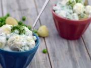 Potato And Peas Salad By Tarla Dalal