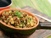 Sprouts Stir Fry Healthy Snack By Tarla Dalal