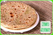 Matar Green Peas Paratha Easy Indian Breakfast Dinner Recipe 1018383 By Sruthiskitchen