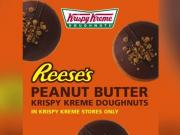 Krispy Kreme Introduces Reeses Peanut Butter Donut