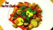 Easy Ratatouille One Pot Chef