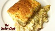 Creamy Chicken And Scone Bake One Pot Chef