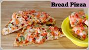 Bread Pizza With And Without Oven Tawa Bread Pizza Pan Bread Pizza 1018934 By Sruthiskitchen