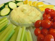Bettys Curry Dip With Fresh Vegetables