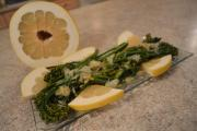 How To Cook Pan Sauted Broccolini With Pomelo Zest Butter 1016823 By Cookingwithkimberly