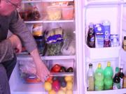 Home Refrigerator Organization At Its Best