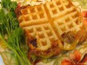 Bettys Waffled Grilled Cheese Sandwich