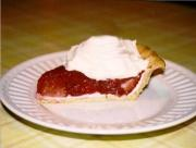 Ruby Red Strawberry Pie