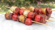 Scallop And Chorizo Skewers 1005874 By Videojug