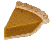 Spiced Microwaved Pumpkin Pie