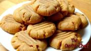 3 Ingredient Peanut Butter Cookies One Pot Chef