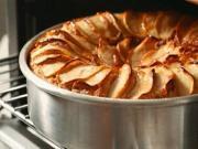 Buckwheat Spelt Apple Cake