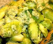 Brussels Sprouts With Cheese Sauce