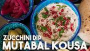 Mutabal Kousa Zucchini Yogurt And Tahini Dip 1018713 By Kravingsblog