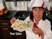 Pear Salsa