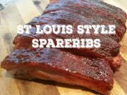 Smoked St Louis Style Ribs