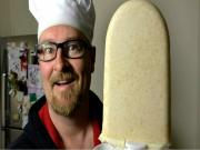 2 Ingredient Peanut Butter Popsicles