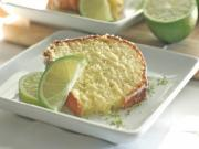 Homemade Glazed Lime Pound Cake