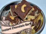 Instant Chocolate Barfi