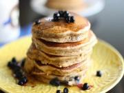 Fluffy Blueberry Pancake