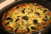 Broccoli Mushroom Quiche
