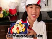 Cauliflower Squash Bake