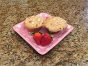 Strawberry White Chocolate Chip Coffee Cake Muffins Lynns Recipes Mothers Day