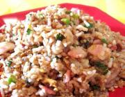 Almond Bacon Brown Rice