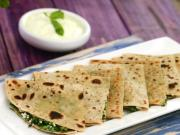Herbed Paneer Paratha Multivitamin Recipe By Tarla Dalal