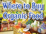Where To Buy Organic Food