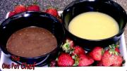 Chocolate Fondue Dips One Pot Chef