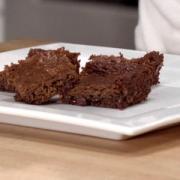 Vegan Zucchini Espresso Brownies