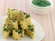 Soya Khaman Dhokla Pregnancy Protein Iron Rich Recipe By Tarla Dalal
