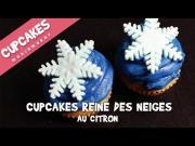 Cupcakes La Reine Des Neiges Au Citron 1019040 By Cupcakesmaniamaker