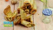 Baked Bread Rolls 1019029 By Tarladalal