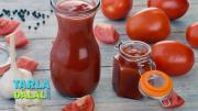 Tomato Ketchup Homemade Tomato Ketchup 1015556 By Tarladalal