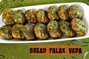 Bread Palak Vada Quick Evening Snack Recipe 1018382 By Sruthiskitchen