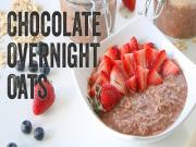 Chocolate Overnight Oats Recipe