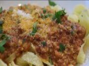 Simple Bolognese Sauce With Tagliatelle Cooking Italian With Joe