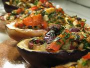 Vegetable Stuffed Eggplant