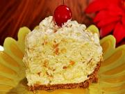 No Bake Pineapple Cream Cheese Pie