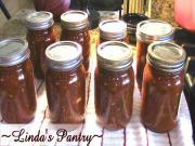 Home Canning Salsa