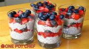 Chia Seed Mixed Berry Puddings 1018061 By Onepotchefshow